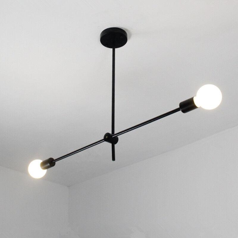 Details about Bar Black Ceiling Lights Kitchen Pendant Light Modern Pendant Lighting Home Lamp