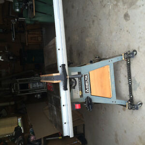 Delta heavy duty table saw with stand