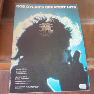 Bob Dylan's Greatest Hits, Words and Music Kitchener / Waterloo Kitchener Area image 1