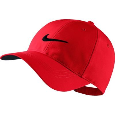 f7a81e3c356 NIKE MEN S LEGACY91 TECH GOLF HAT CAP - UNIVERSITY RED