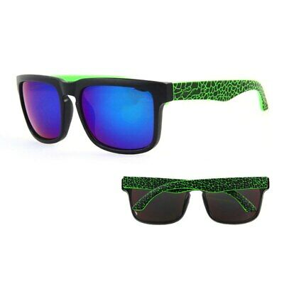 Stylish Rectangular Sunglasses For Men And Women With Reflective Coating