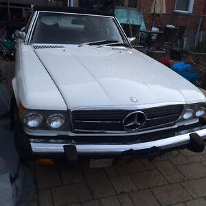 Mercedes 450 sl en trés bonne condition