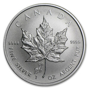 silver Maple leaf sheep privy/Pièce en argent 1 oz 2015
