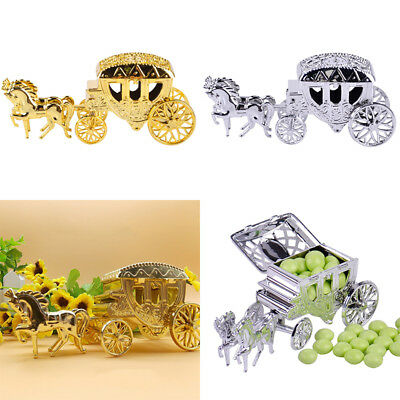 Carriage Candy Chocolate Boxes Birthday Wedding Party Gifts Favor Hot 1 Pcs (Hot Chocolate Party Favor)