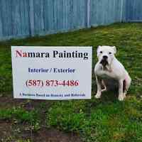 Namara Painting, A Business Based on Honesty and Referrals