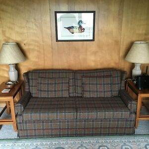 Complete Living Room Set - Sofa Bed Armchairs & Recliner