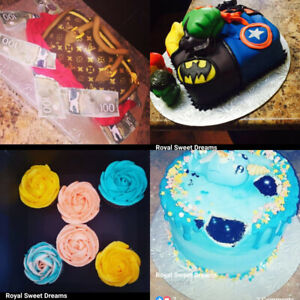 Custom baked cakes desserts and much more