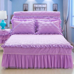 King size bed skirt and comfort cover including comfort