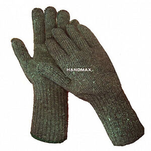 M-L size Green Heat & Cut Resistant Work Gloves heat proof to 400 degree 1 pair