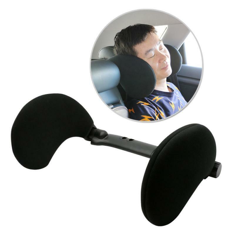 Car Seat Headrest Car Neck Pillow Sleep Side Head Support For Kids & Adults