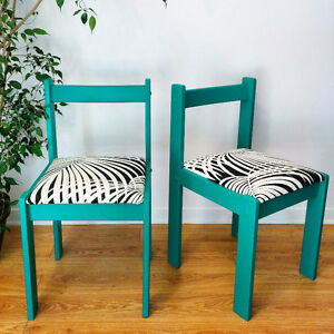 2 chaises mix and match