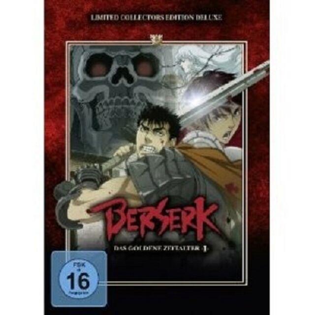 KUBOOKA - BERSERK: DAS GOLDENE ZEITALTER  DVD FANTASY ABENTEUER ANIME NEU
