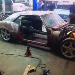 1968 firebird project