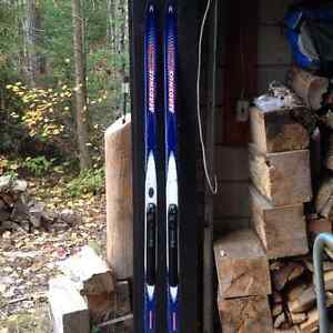 Madshus X Country Skis with Fisher Bindings