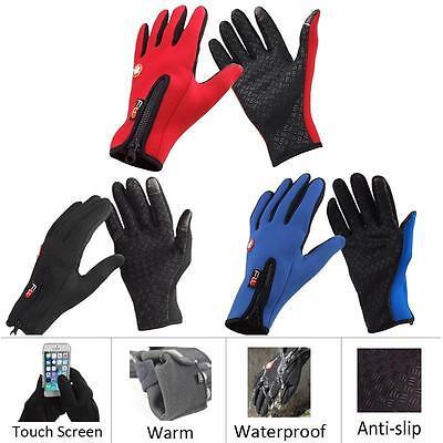 Winter&autumn Unisex Windproof Touch Screen Sports Glove Bikes Motorcycle Best