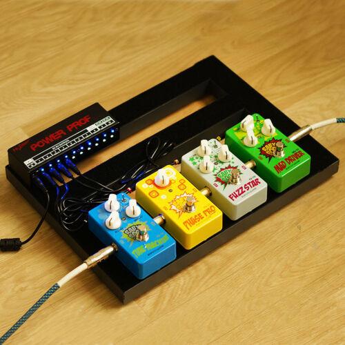 eu mr power guitar effects pedal board power supply 9v 12v 18v output 10 ways ebay. Black Bedroom Furniture Sets. Home Design Ideas