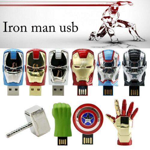64GB Marvel's The Avenger USB 2.0 Flash Drive Memory Stick U