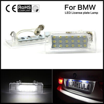 2x Fits BMW X5 E53 Genuine Osram Original Number Plate Lamp Light Bulbs