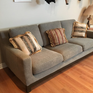 Sofa -Very comfortable - durable fabric, easy to keep clean