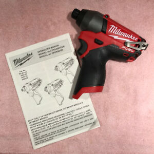 Brand NEW Milwaukee M12 Brushless FUEL Impact Driver (Tool Only)
