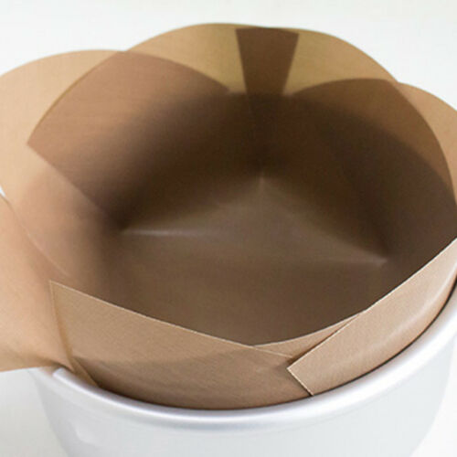 Non-stick Tarpaulin Paper Liners Round Baking Pans Cookie Sh