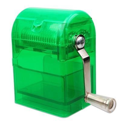 Portable Mini Paper Shredder Cutter Manual Hand Document File Cutting Machine