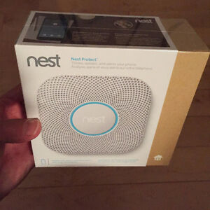 Nest Protect Wi-Fi Smoke & Carbon Monoxide Alarm (Battery) BNIB!
