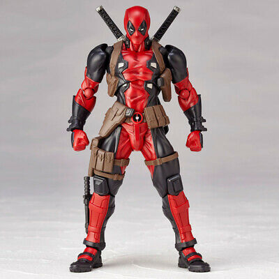 MARVEL NO.001 DEADPOOL KAIYODO YAMAGUCHI ACTION FIGURES COMPLEX REVOLTECH TOY