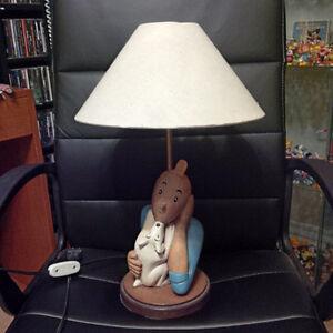 lampe de Tintin