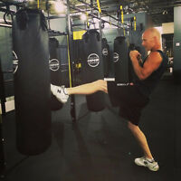 Kickboxing boot camp-better than Crossfit!