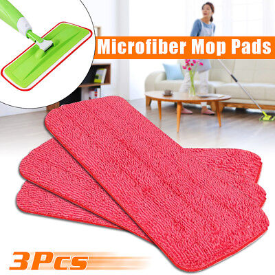 Replacement Cleaning Head - 3pcs/Set Microfiber Spray Mop Household Dust Mop Head Replacement Cleaning Pad