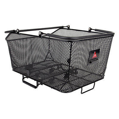Axiom Market Basket LX Mesh Rear QR Bicycle Racktop Basket Black