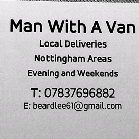 Just A Man With A Van .