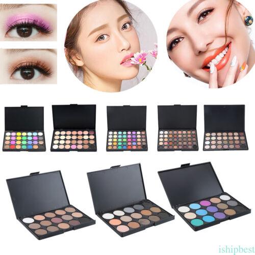 15/28/40/80/120 colori opaca shimmer palette ombretto trucco cosmetico