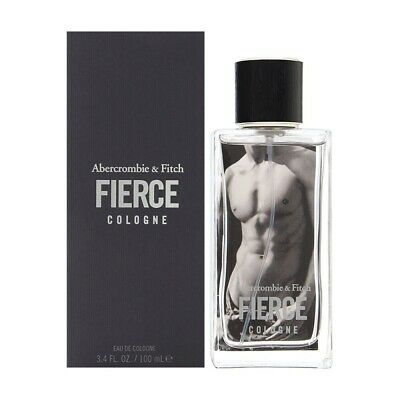 Abercrombie & Fitch * Fierce * 3.4 Oz * Eau De Cologne * Edc * Spray * Men * New