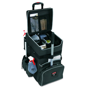 Rubbermaid Commercial Products Executive Janitorial Quick Cart