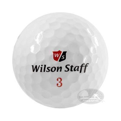 50 Wilson Staff DX2DX3 Soft palline da golf usate Cat. 5 Stelle (PEARL)
