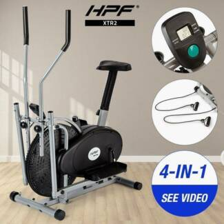 HPF 4in1 Elliptical Cross Trainer Exercise Bike Bicycle Equipment