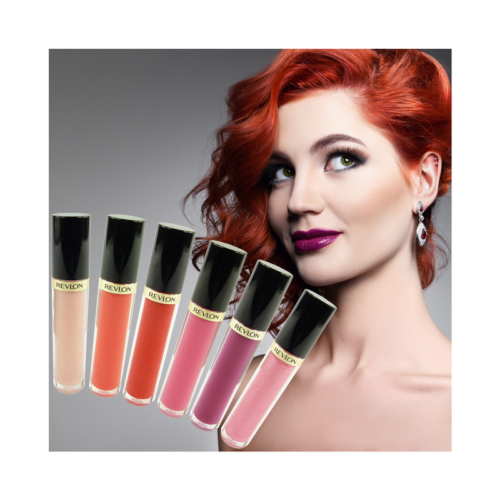 Revlon Super Lustrous Lipgloss - Lippen Farbe Make up Gloss Stift Kosmetik 3.8ml