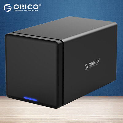 ORICO 4 Bay USB 3.0 Hard Drive Dock HHD Enclosure Case for 3.5'' HDD Tool Free (Hdd-tool)