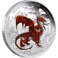 Dragons of Legend 5 Coin Silver Set