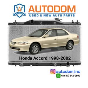 New Condenser and Radiator For Honda Accord 1998-2002