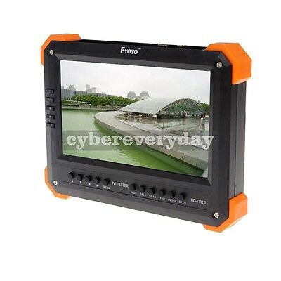 X41ta 7 Lcd Monitor Hd-tvi 3.0ahdhdmivgacvbs Camera Test Video Cctv Tester