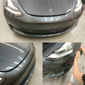 Paint protection film and window tinting in GTA