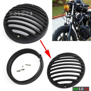 4.5'' Motorcycle Headlight Grill Cover Harley or other bike