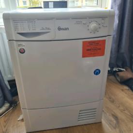 Swan condenser dryer delivered