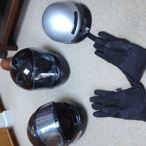 Motorcycle Gloves and Helmets
