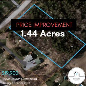 PRICE IMPROVEMENT! 1.44 Acres - Upper Golden Grove Road