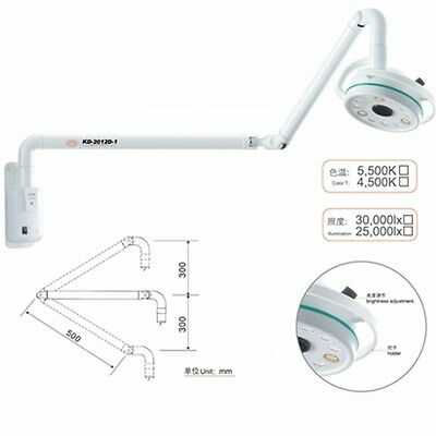 180 Rotation 36w Wall Hanging Led Surgical Medical Exam Shadowless Cold Light