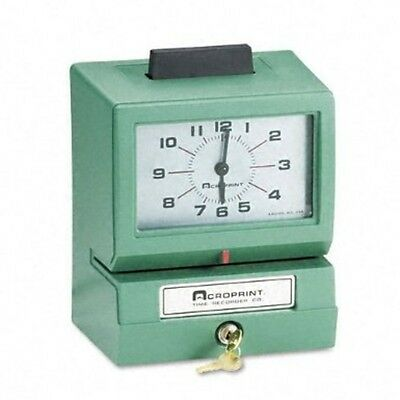 Acroprint Heavy Duty Time Clocks- Manual-125ar3 01-1070-400 Time Clocks New